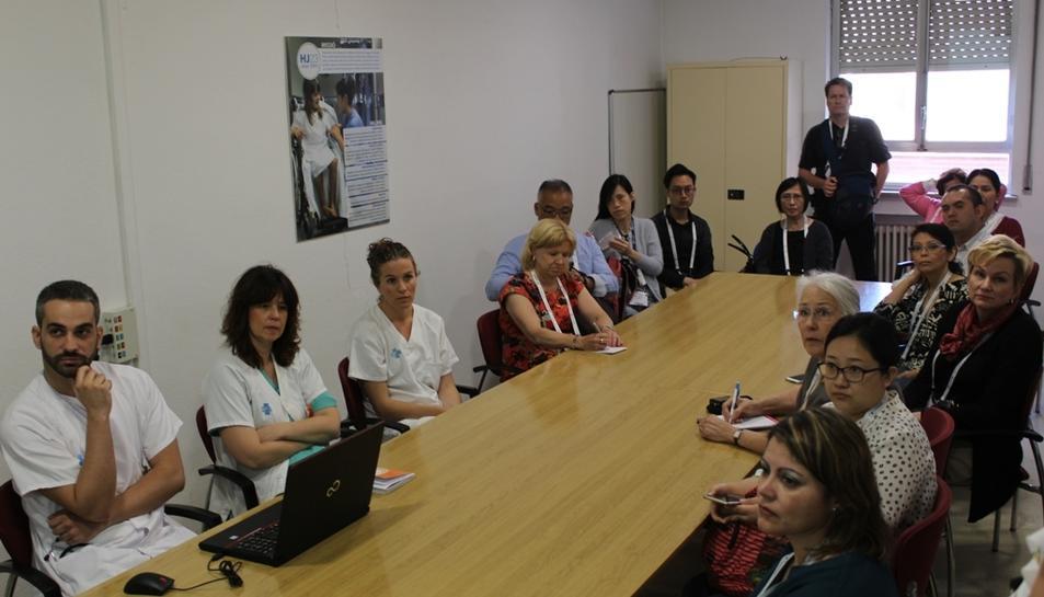 Els infermers provinents de diversos països han après com funciona el sistema
