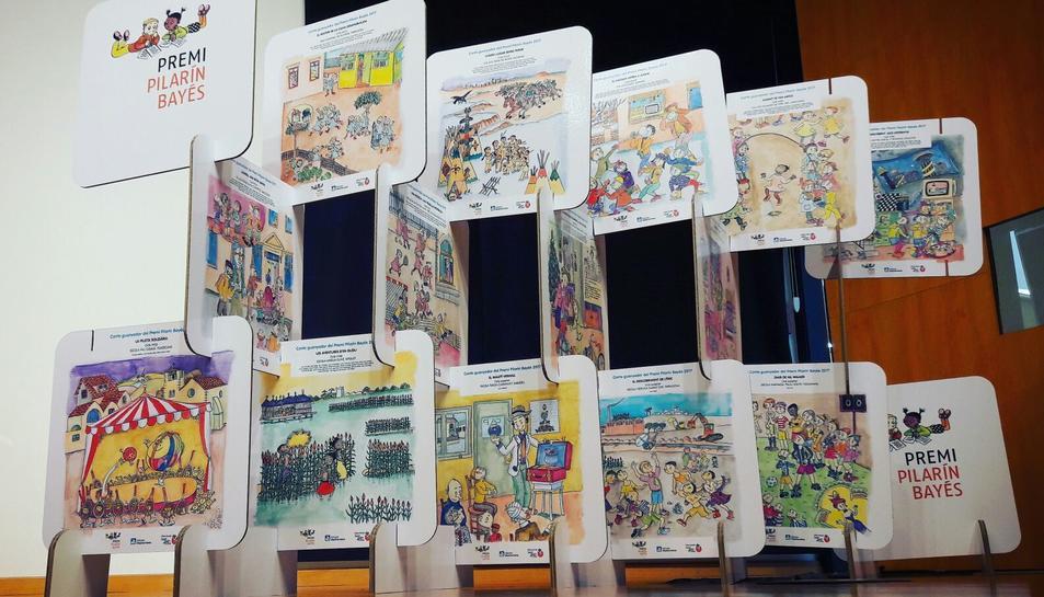 En total hi ha 15 contes guanyadors del certamen.