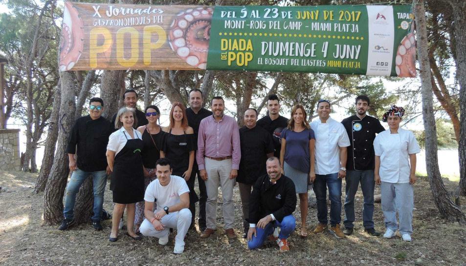 Imatge de presentació de les X Jornades Gastronòmiques del Pop.