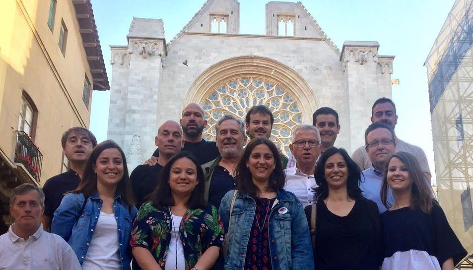 L'equip encapçalat per Jaume Sáez va fer-se una fotografia de família per celebrar la victòria.