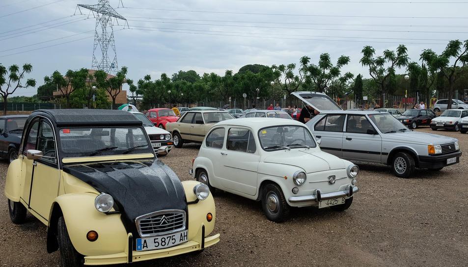 Les festes van donar el tret de sortida dissabte al matí amb la trobada de vehicles clàssics i Ford Capri.