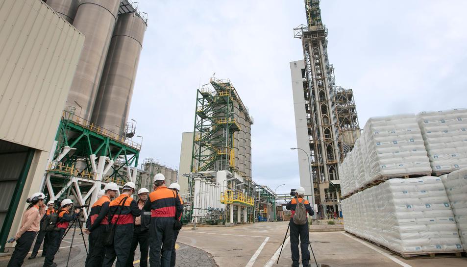 La planta ha modificat més de la meitat de la instal·lació original, amb la incorporació de més de 60 equips.