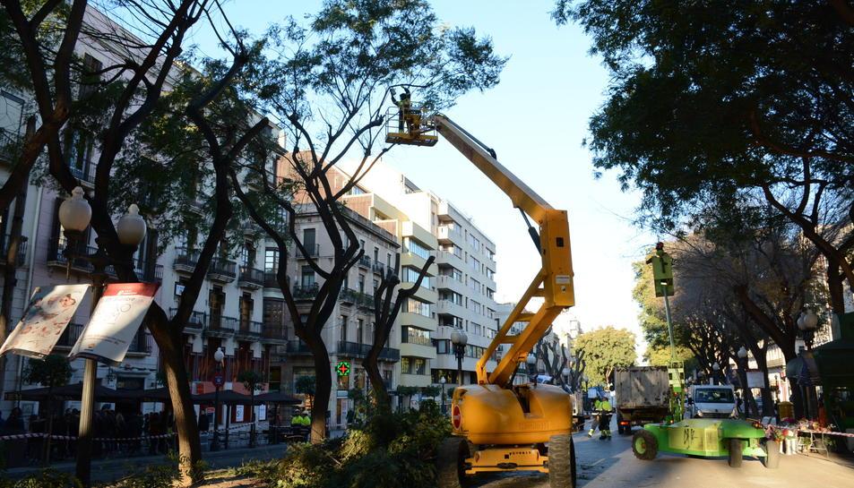Tarragona Centre creu que la Rambla acabarà desertitzada.