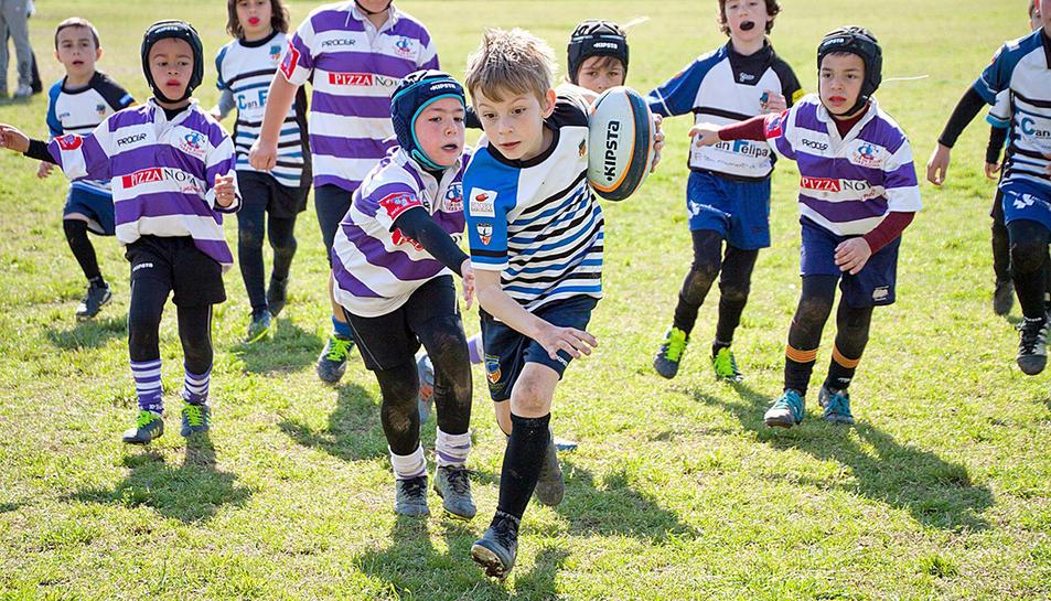 Els nens podran disputar partidets i participar en jocs.