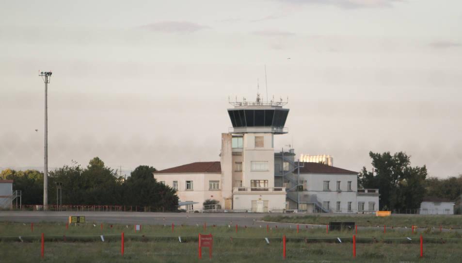 La torre de control de l'Aeroport de Reus.