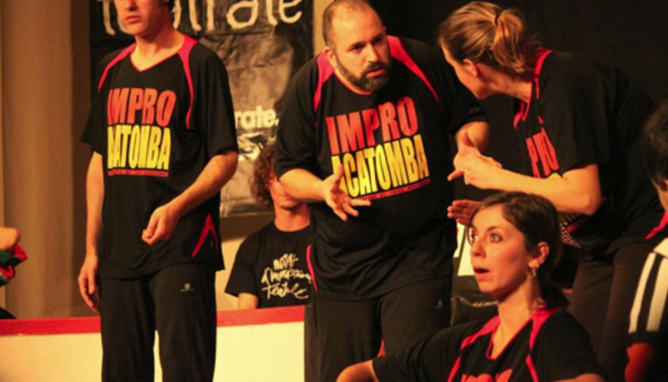 ImproAcatomba actuarà al Casal Municipal de Cunit.