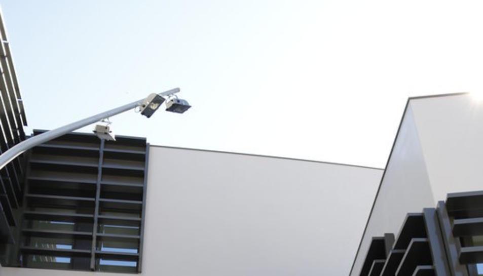 Façana del nou edifici de la Generalitat a les Terres de l'Ebre