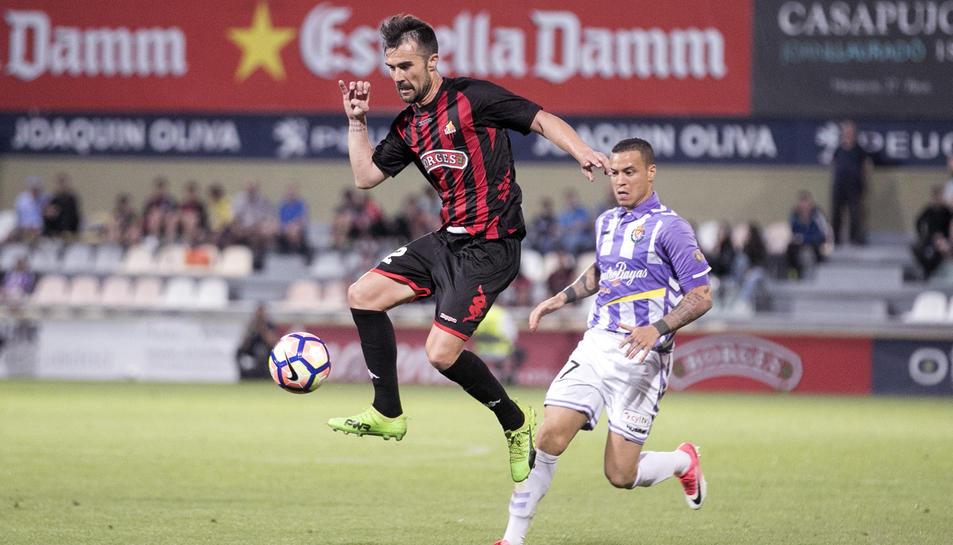 López Garai, contra el Valladolid.