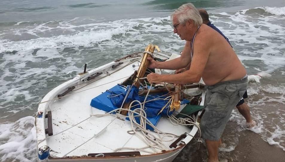 Els treballs de reparació de la barca s'havien acabat tot just dimecres.