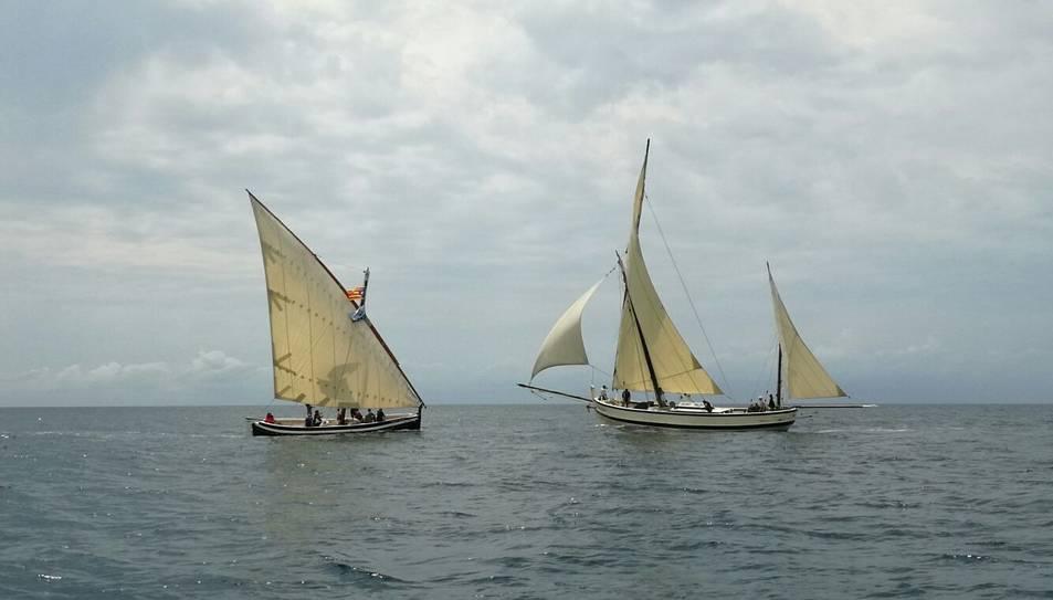 Cinc de les barques participants eren de Calafell mateix.