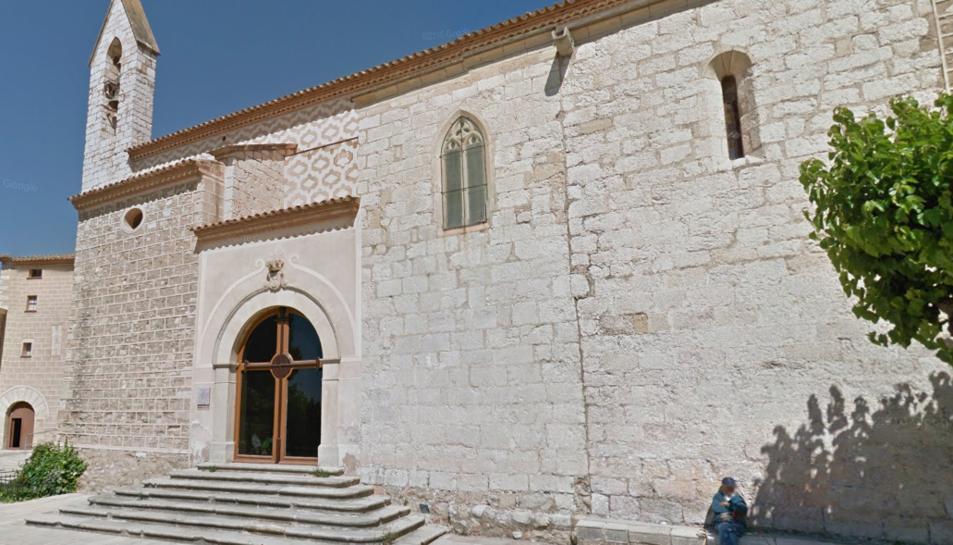 Imatge del Santuari de la Serra de Montblanc.