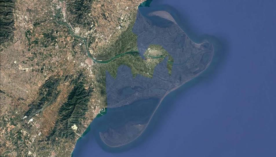 El Delta de l'Ebre desapareixerà si el nivell del mar puja, tan sols, un metre.