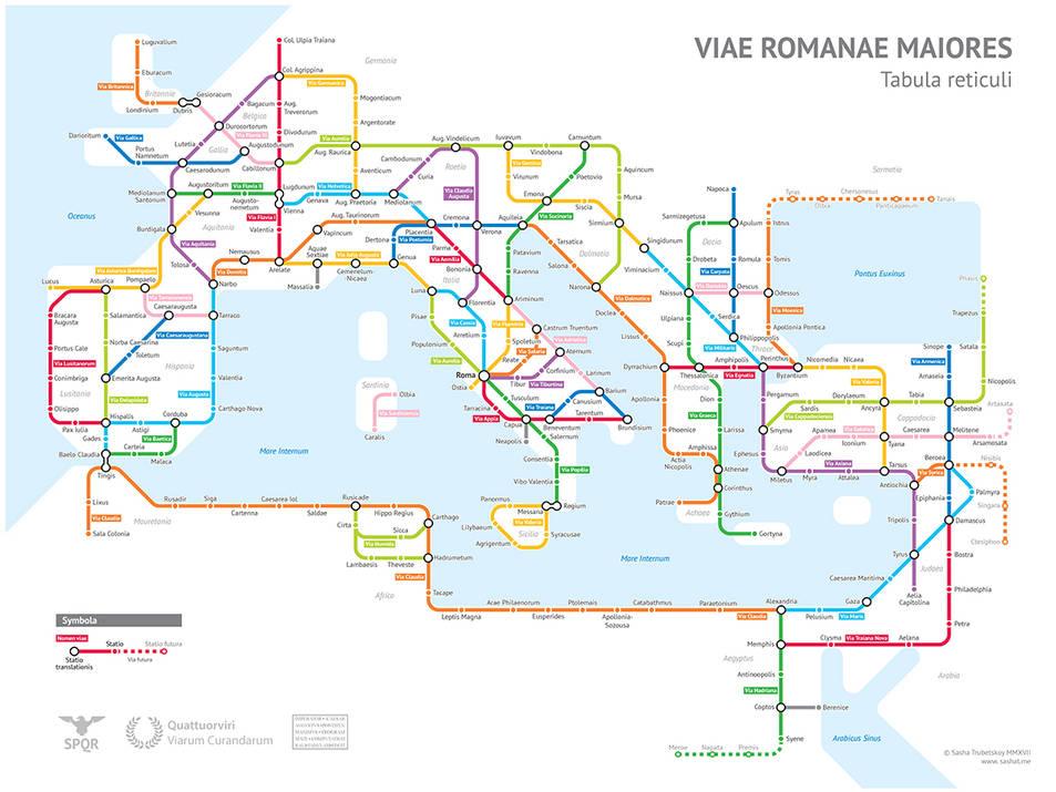 El 'metro' romà