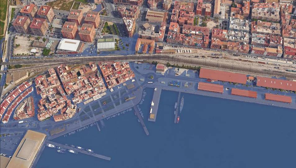 El mar arribaria fins a les Torres Jordi amb una pujada de tres metres.