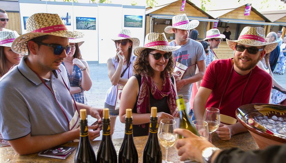 Nova edició de la fira 'Reus viu el vi'.