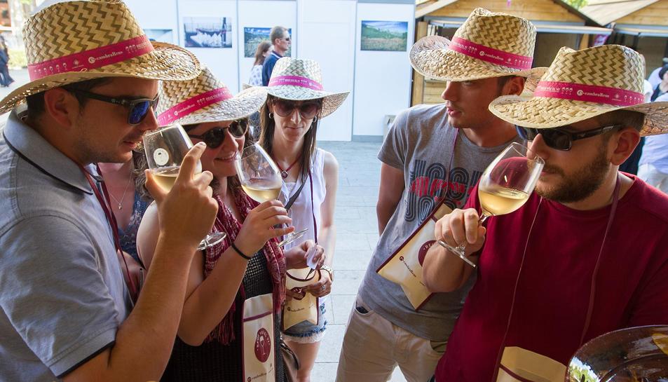 La fiesta del vino en Reus