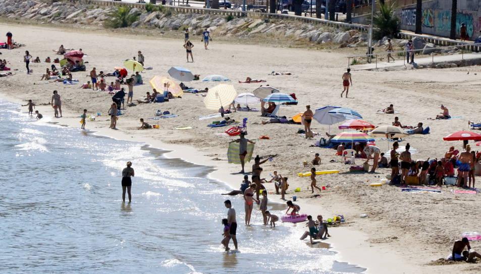 La ola de calor está previsto que se alargue hasta el sábado.