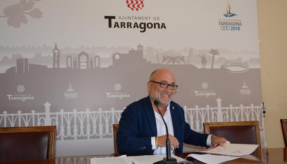 Imatge del conseller d'educació, Francesc Roca.