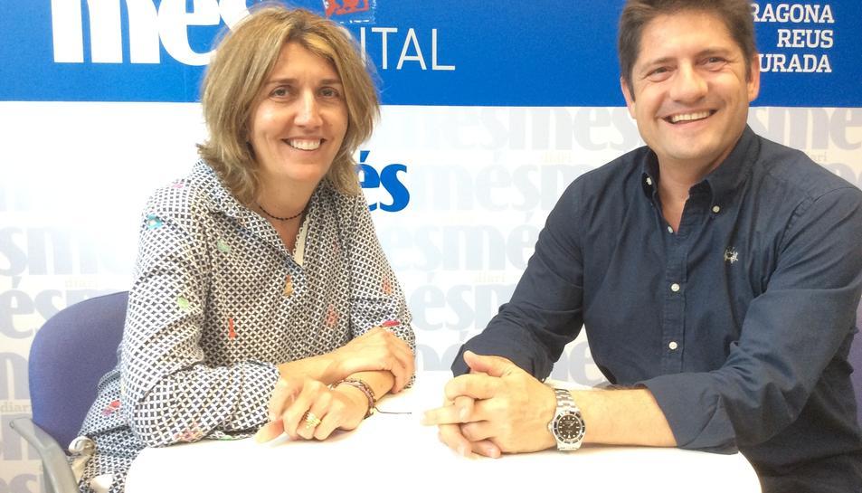 Conxita Esteve i Lluís Fàbregas.