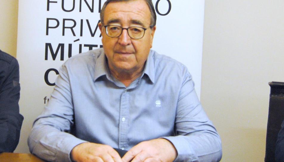 Imatge de Joan Josep Marca, a qui l'Ajuntament vol atorgar el títol de fill predilecte.