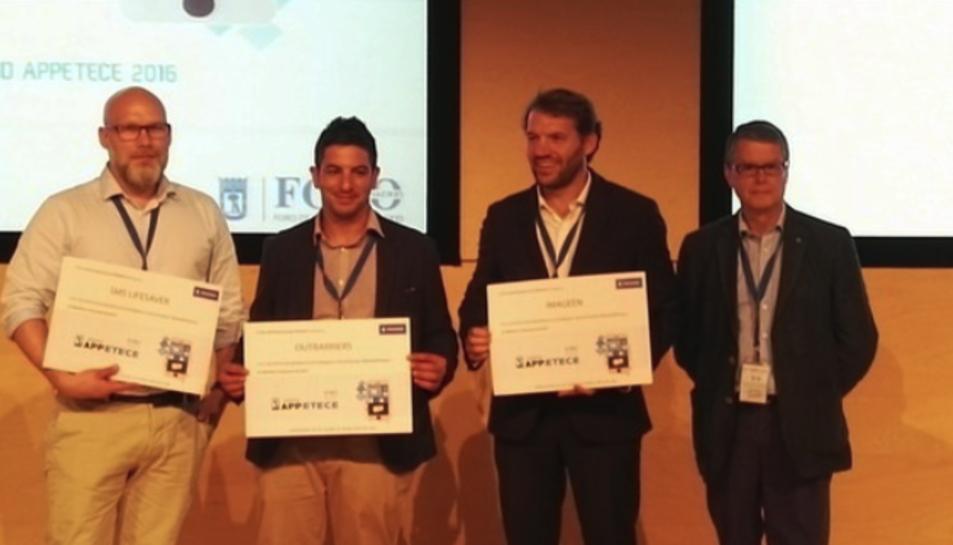 Reliving-Tarraco ha estat la guanyadora de la categoria aplicacions