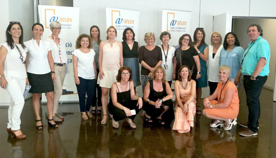 La Comissió Dona i Empresa, al Centre d'Informació de l'Associació Nuclear Ascó-Vandellòs II