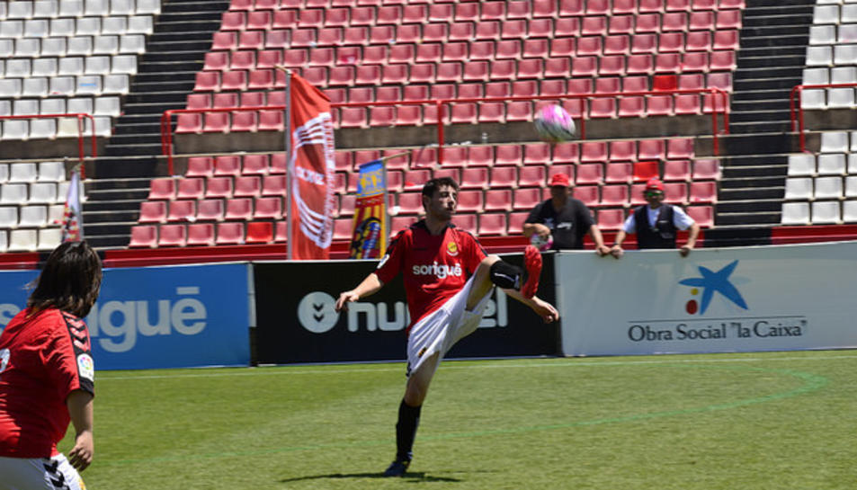 Festival de fútbol en el Nou Estadi