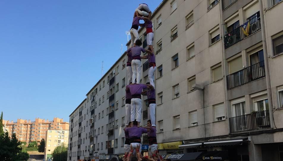 3de7 dels Castellers d'Altafulla a Sant Pere i Sant Pau