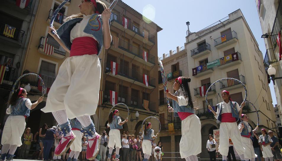 El Seguici Popular de Valls s'amplia amb el ball de Cercolets.