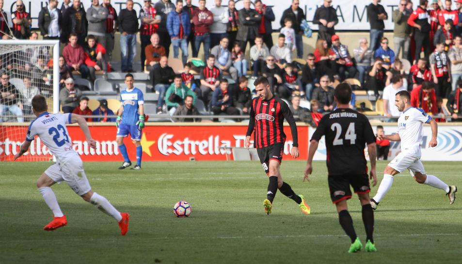 López Garai, en un partit d'aquesta temporada.