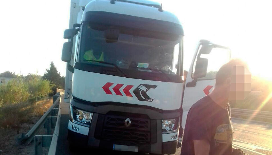 El camioner i el camió.