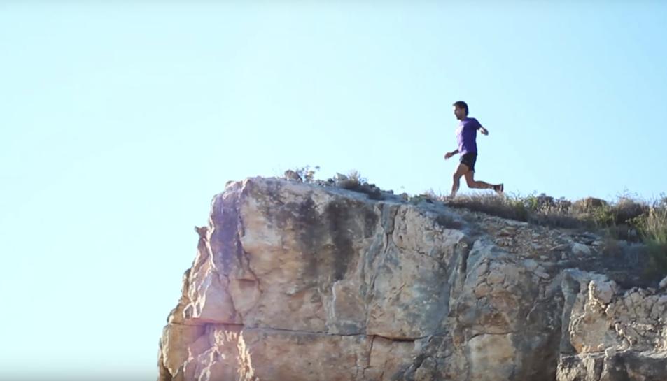 El vídeo creat per a l'ocasió equipara la temporada castellera amb una cursa de fons.