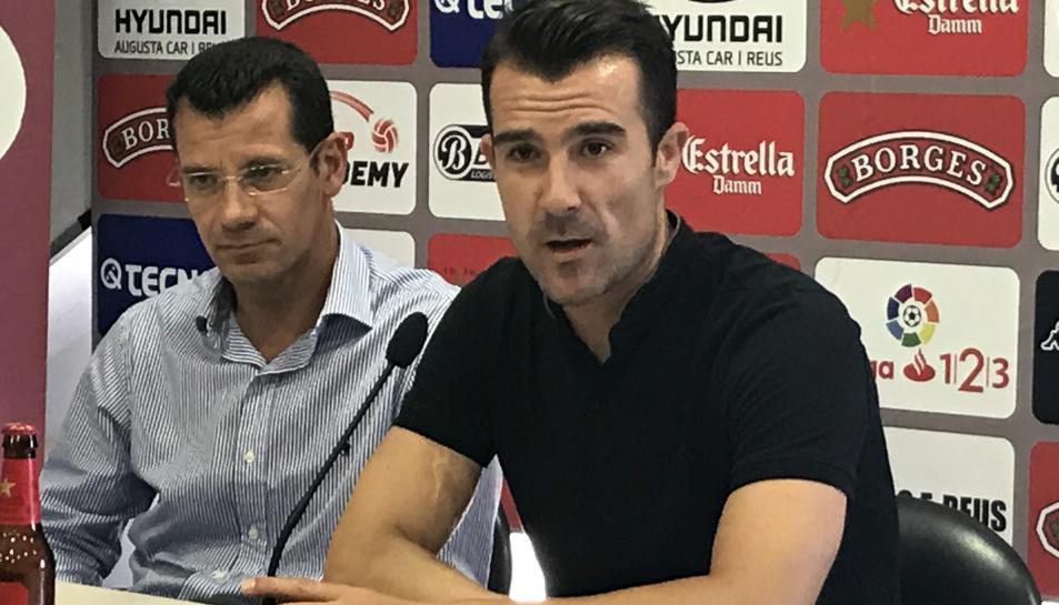 Sergi Parés i Aritz López Garai.