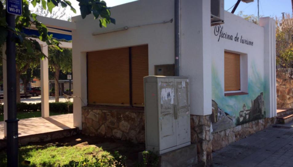Imatge de l'antiga Oficina de Turisme d'Altafulla.