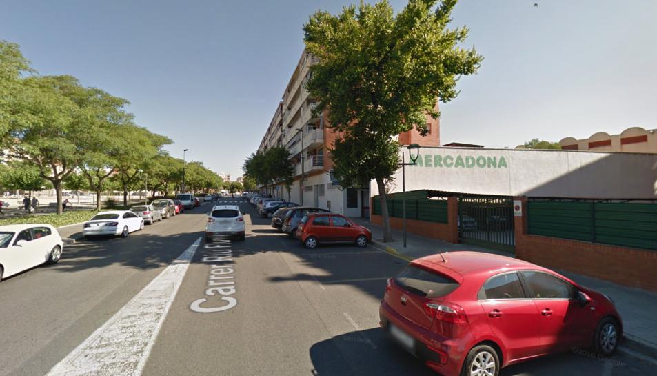 L'incendi s'ha produït al Mercadona del carrer Riu Fluvià de Tarragona.