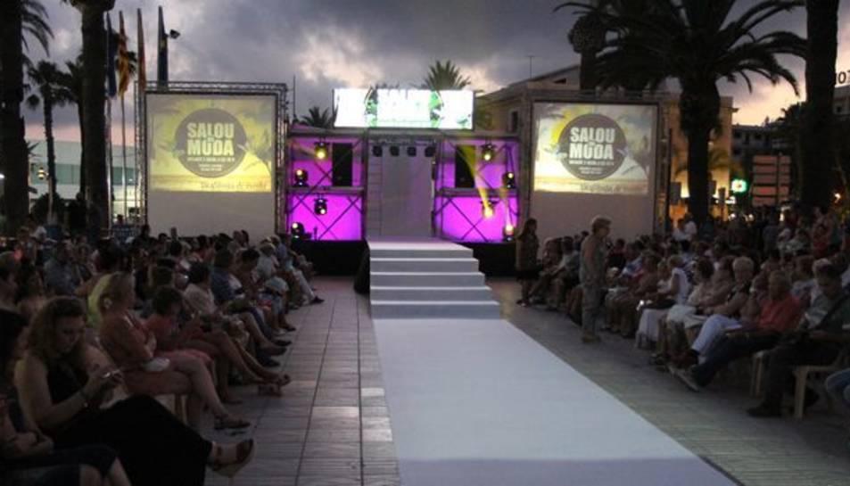 La desfilada de moda serà l'acte central de l'esdeveniment.