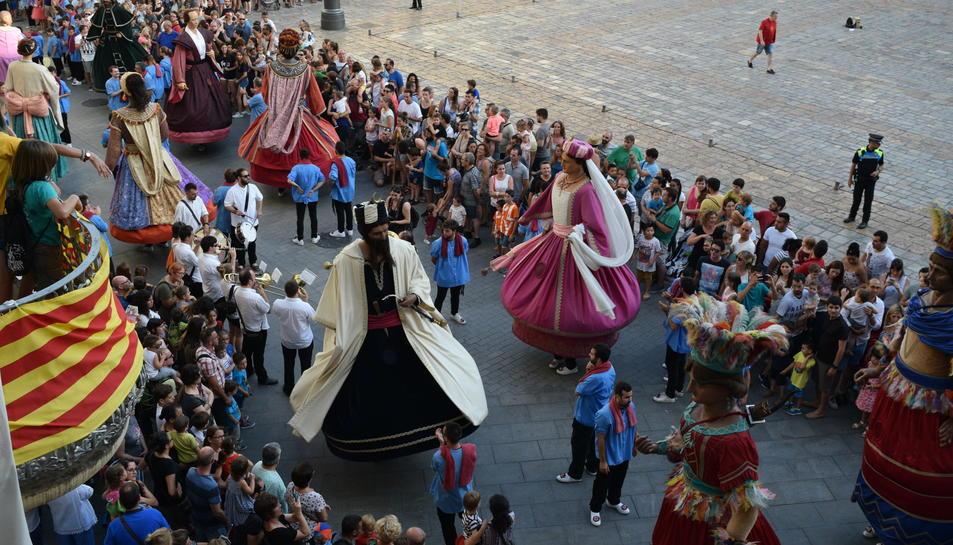 El inicio de la Fiesta Mayor
