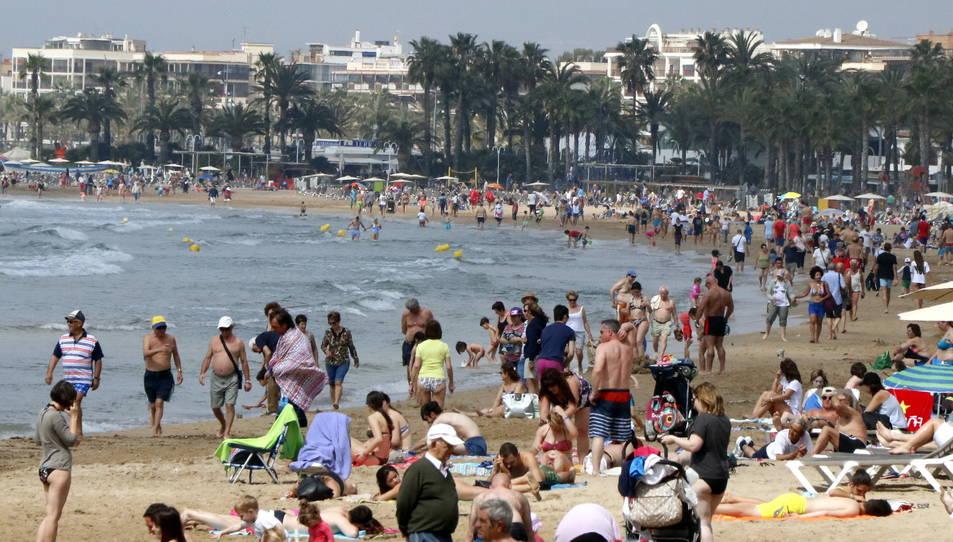 Les platges han estat un bon remei contra la calor.