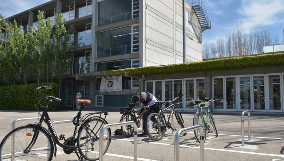 Imatge d'arxiu del Campus Bellisens de la universitat a Reus.