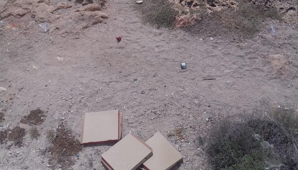 Imatge de la situació de la zona de les roques.
