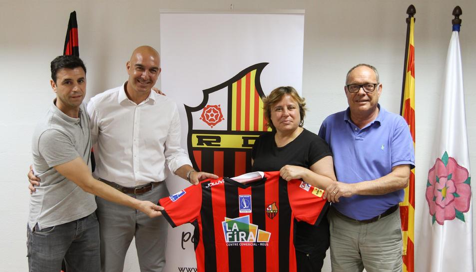 Jordi Garcia, feliç.