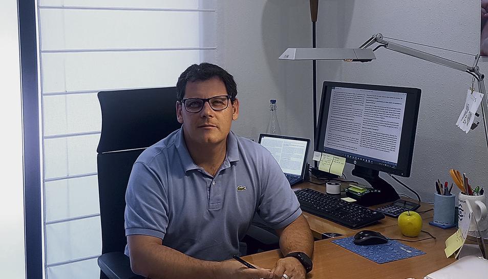 Emili Giralt és el director territorial de Sorea a la zona de Tarragona.