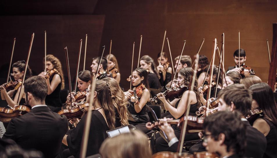 Imatge d'un concert de la JONC Alevins