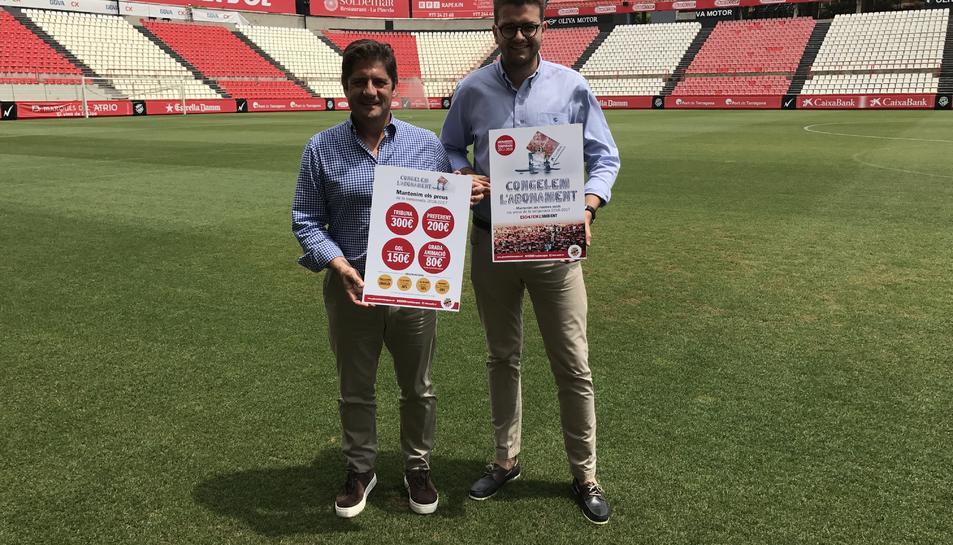 Lluís Fàbregas i José Andreu.