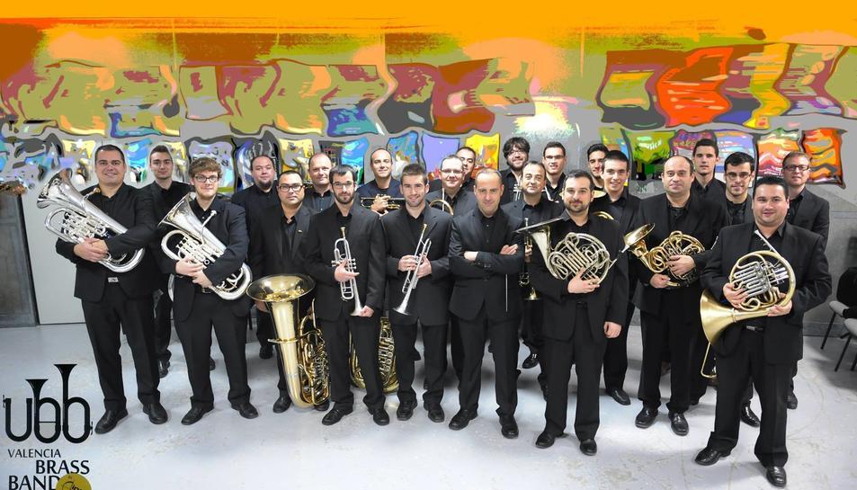 El concert de la Valenciana Brass Band tindrà lloc el proper divendres 30 de juny.