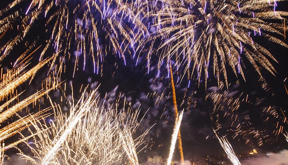 Jordi Brú va fotografiar el Concurs de Focs Artificials de Tarragona dels anys 2015 i 2016.