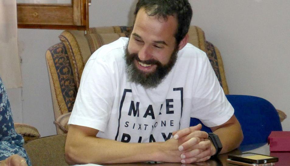 Jordi Ramos, nou alcalde del petit municipi de Conesa.