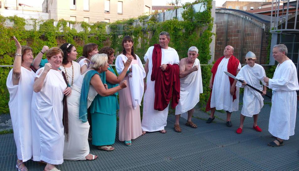 La revolta de les dones a Lisístrata, l'obra que es representarà dissabte i diumenge.