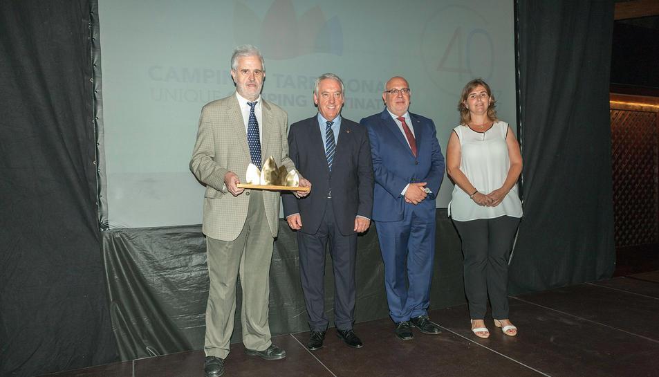 Acte de reconeixement a la Diputació de Tarragona.