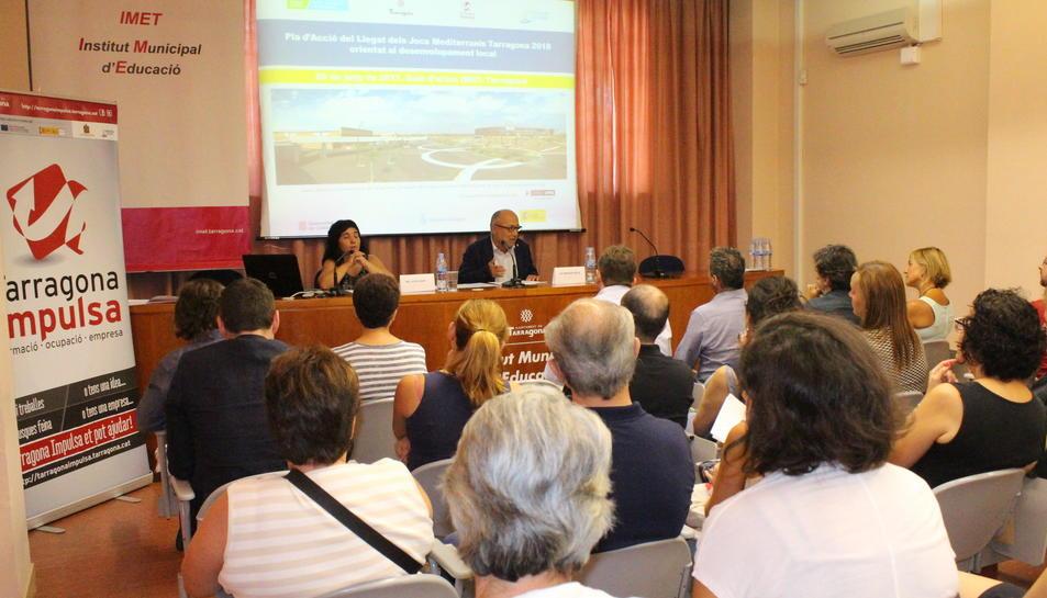 Una imatge de la reunió.